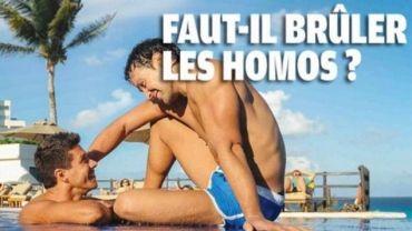 Maroc Hebdo : Faut-il brûler les homos ? L'hebdomadaire retire finalement sa une deux jours après la publication face à la polémique