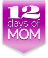 Tomorrow starts the 12 Days of Mom celebration and giveaways, including a grand prize spa weekend! Follow me to get the details tomorrow.