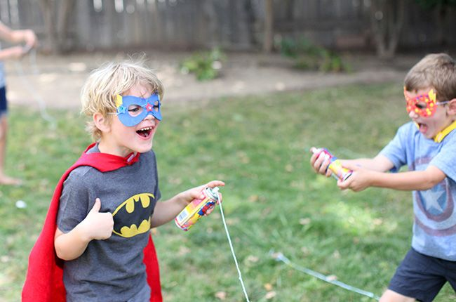 Get ready to have the best super hero party ever with these great ideas for party food, games, decorations, and free printables.