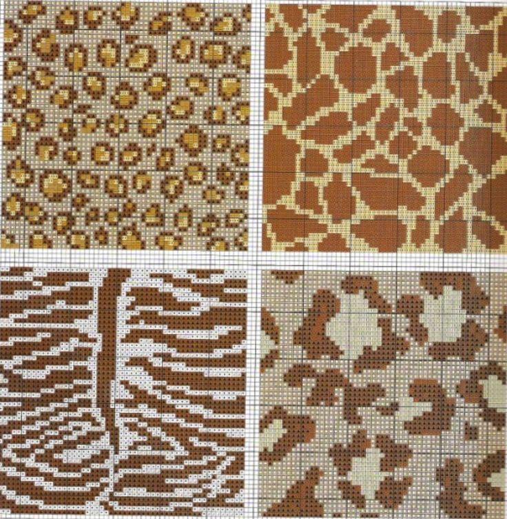 Knitting Charts Free : Leopar motifs and ornaments pinterest strikke