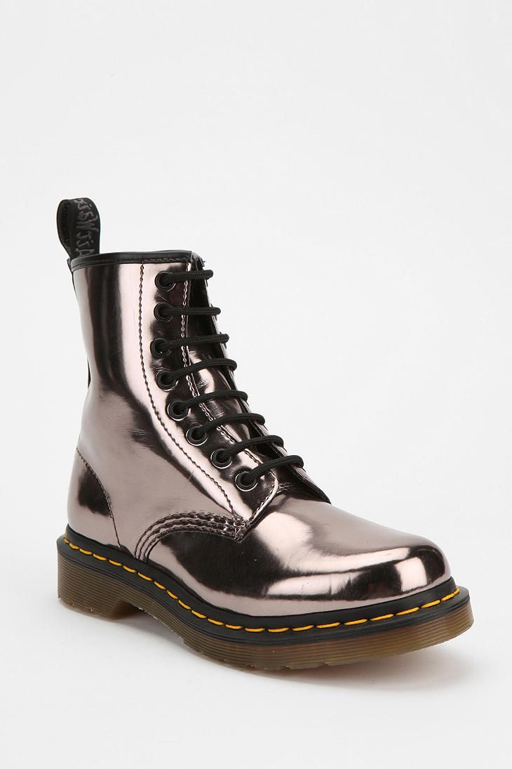 Dr. Martens Patent 1460 Boot... Almost bought these... A little too flashy for me though!