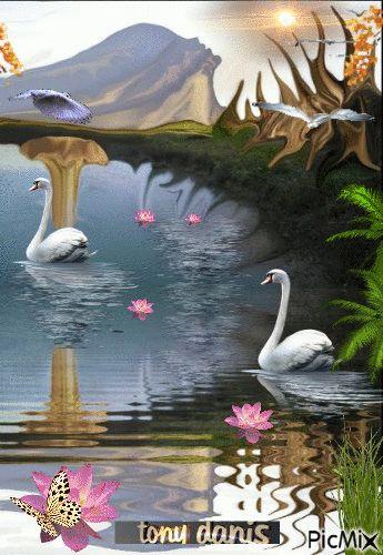 MAGIC WORLD   original backgrounds, painting,digital art by tonydanis
