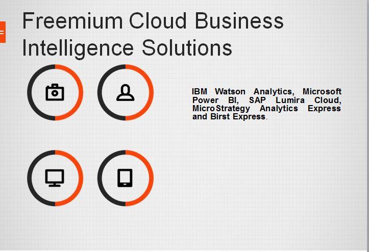 5 Freemium Cloud Business Intelligence Solutions - https://www.predictiveanalyticstoday.com/freemium-cloud-business-intelligence-solutions/