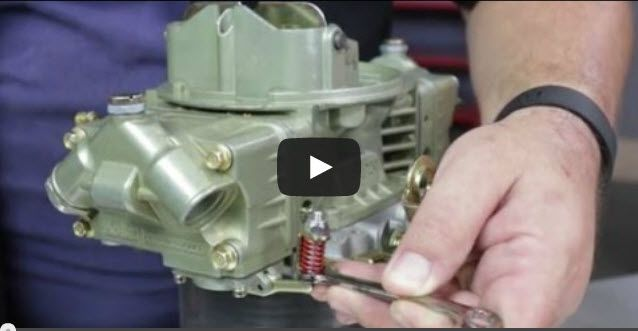 #techtuesday. Check out this article and video on how to tune a Holley Carburetor. http://www.chevyhardcore.com/news/video-tuning-your-holley-performance-carburetor/