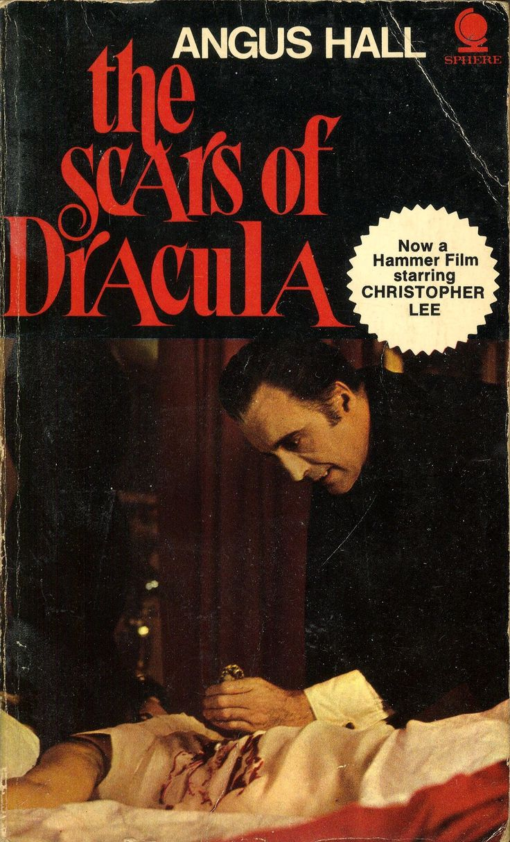 Scars of Dracula (1971, Sphere) Angus Hall