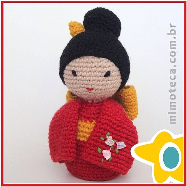 326 best ♡ Japanese Chinese Crochet Dolls ♡ images on Pinterest ...