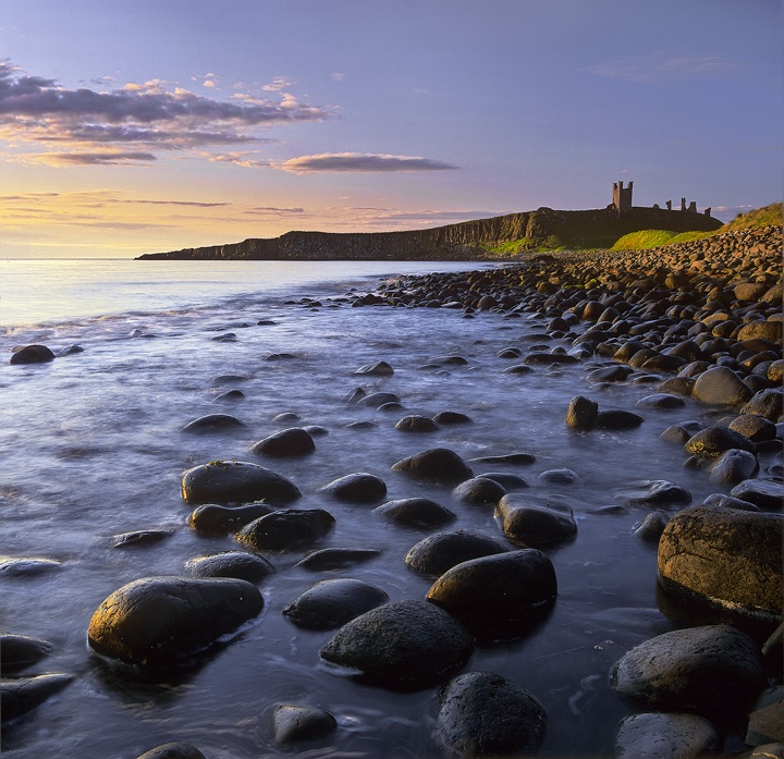 Dunstanburgh, Northumbria, England by Ian Cameron - Stunning. Fab Golf Club there too!