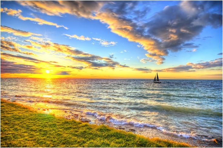 Sailing to a setting sun