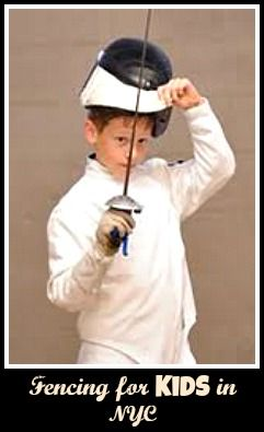 Fencing Classes for New York City Kids