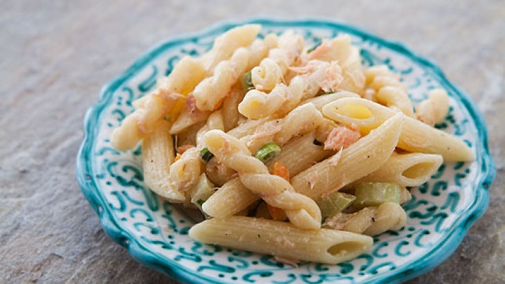 Smoked Salmon Pasta Salad | Edibles | Pinterest