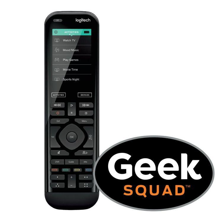 Geek Squad - Logitech Harmony 950 Universal Remote with Geek Squad ® Remote Control Programming