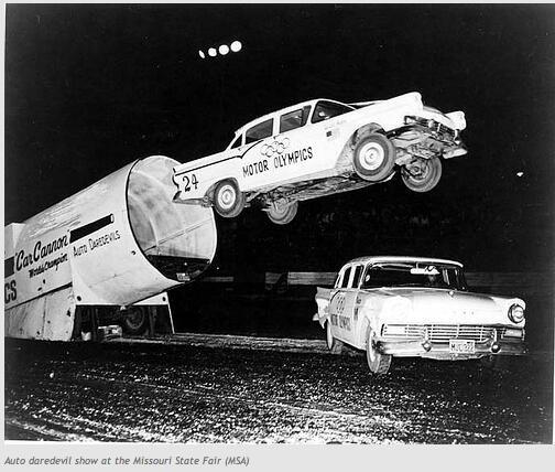 1950 S Car Stunts Historical Items Pinterest Cars