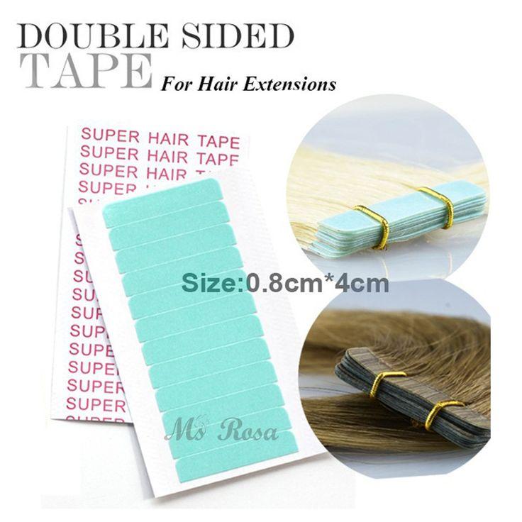 Super Tape Hair Adesivo Doppio Lato 1 PZ 0.8 cm x 4 cm Capelli Adesivo Colla Per Parrucca Del Merletto Supertape impermeabile Nastro Adesivo Capelli