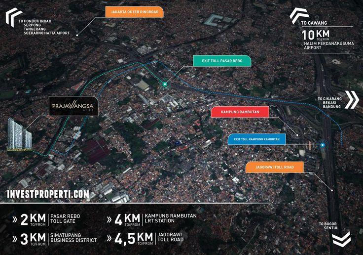 Lokasi Prajawangsa City Jakarta
