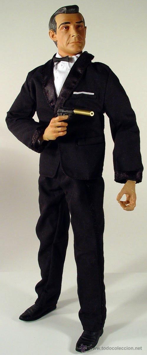 Figura Sideshow 40 aniversario Sean Connery como James Bond escala 1/6 30 cm