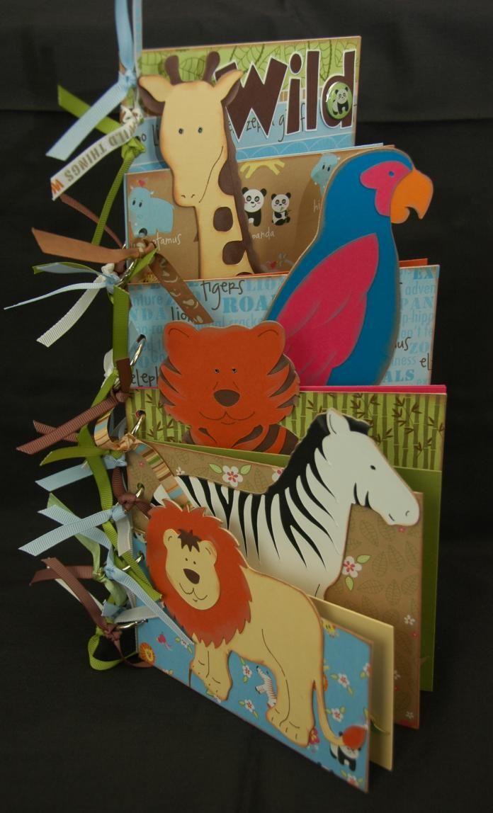 Zoo animal scrapbook ideas - Monique Griffith Designs Just Monique