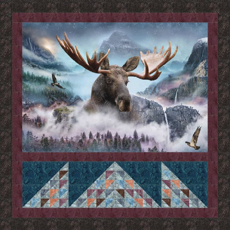 178 Best Lodge Quilts Images On Pinterest Deer Easy