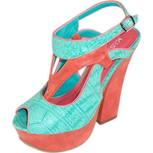Two tone sandals,$30.95