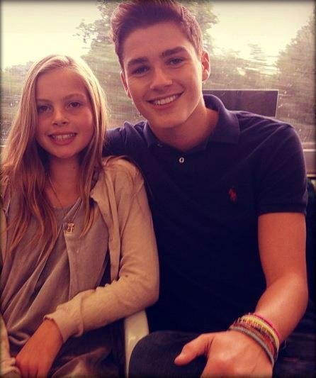 Jack And Finn Harries Girlfriend Finn Harries And Emmy ...