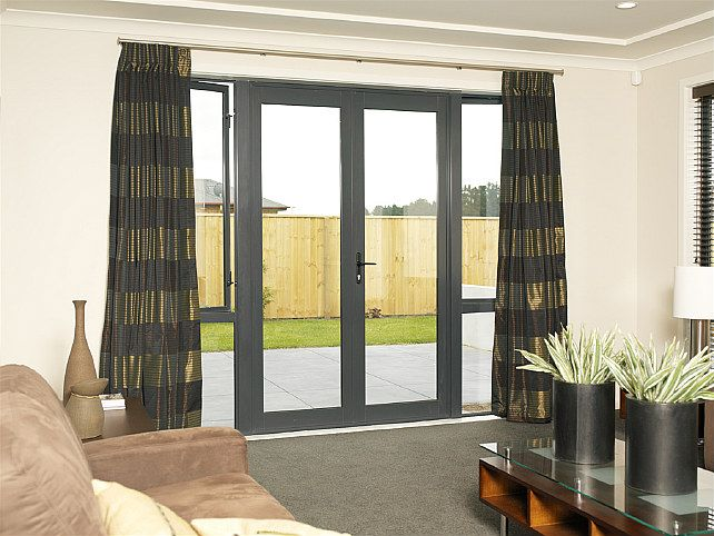 Ideal for living areas and can have fixed sidelights for a more transparent outlook.