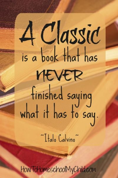 How to use classics in your homeschool - from HowToHomeschoolMyChild.com