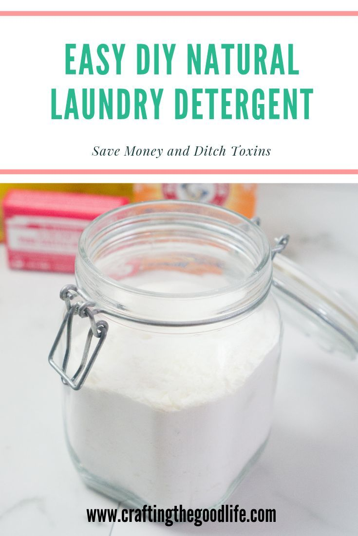 Diy Natural Laundry Detergent Recipe Natural Laundry Detergent