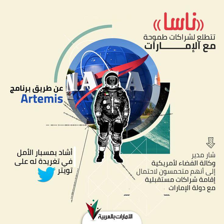 «ناسا» تتطلع لشراكات طموحة مع الإمارات in 2020 Nasa