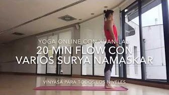 15 mins clase de yoga para principiantes - YouTube