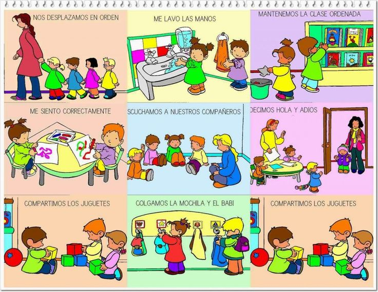 Pregúntale al Profesor: Normas de convivencia en el aula imágenes para imprimir.