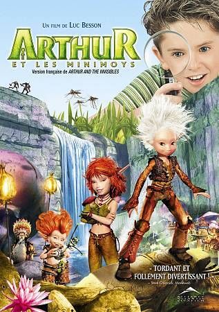 Arthur and the Invisibles (DVD, 2007, Canadian) Madonna Snoop Dogg David Bowie