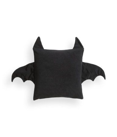 Could DIY this bat cushion with some fuzzy plush in a pastel color! Super cute!