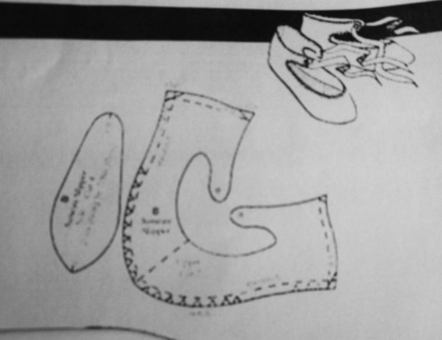 Туфельки для маленькой Принцессы (мастер класс) - Ярмарка Мастеров - ручная работа, handmade cipőcske