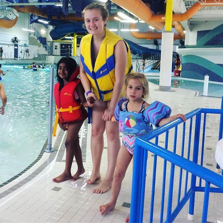 Had so much fun at the wave pool today with the camp kids!  #ottawa #kanata #fun #swimming #waves #summer #summercamp #resolute