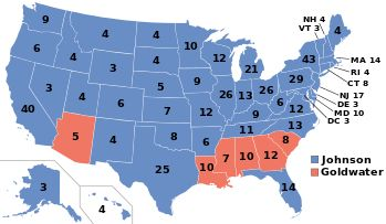 United States presidential election, 1964 -