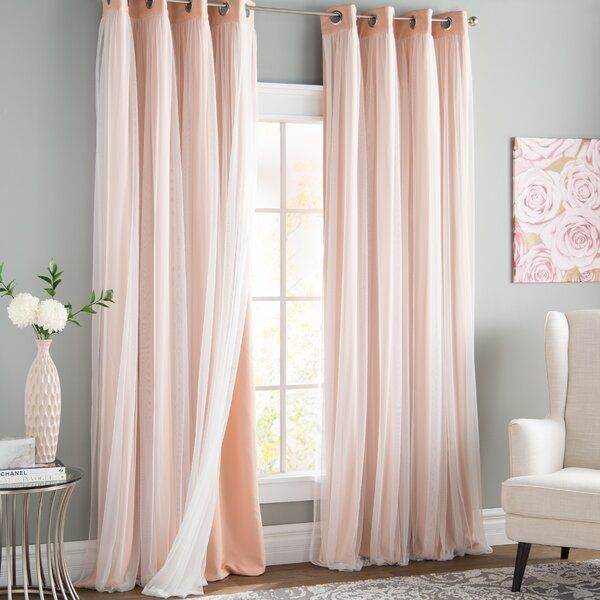 Brockham Solid Blackout Thermal Grommet Curtain Panels In 2020