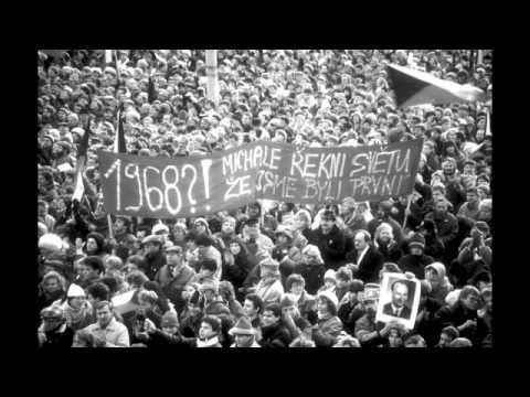 Velvet Revolution, Prague 1989 photos by MIAH -