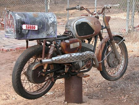 Mailtorcycle