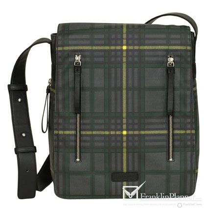 Great plaid print on this laptop bag. $348.95