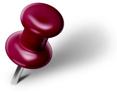 illustration of pin
