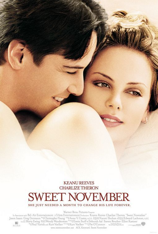 Sweet November Movie Poster - Internet Movie Poster Awards Gallery