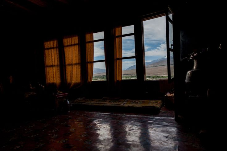 Inside Spituk Gompa - Leh, Ladakh, Northern India by Andrea Schieber