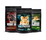 MVP K9 Supplements Weight Gainer, Muscle Builder and Whey Protein for Dogs (45 Servings)