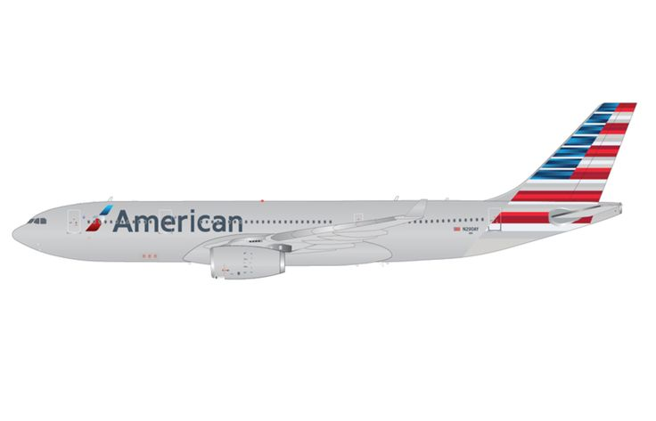 1/200 GeminiJets American Airlines Airbus A330-200 Diecast Model Plane
