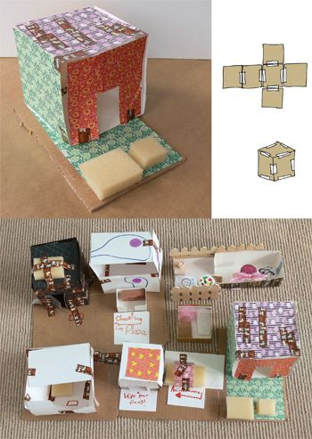 Box Buildings -- make to use with map of our neighborhood