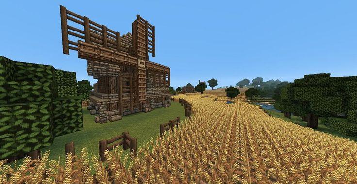 Medieval Wheat Farm Custom Map Download | Skryim Inspired ...