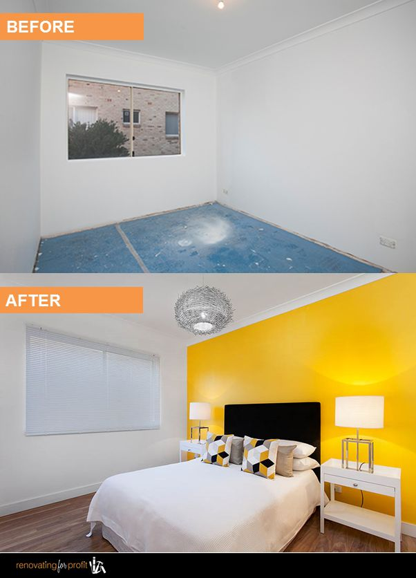 #beforeandafter #apartment #renovation See more exciting projects by Cherie Barber at: www.renovatingforprofit.com.au