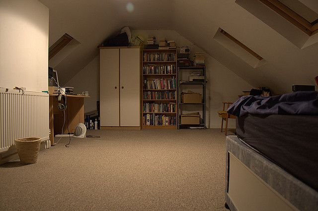 Finish your attic and make use of all that extra space! Tips, on the blog!