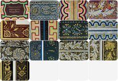 Kalmyk folk Embroidery. Set of 12 Vintage от RareBooksAndMore