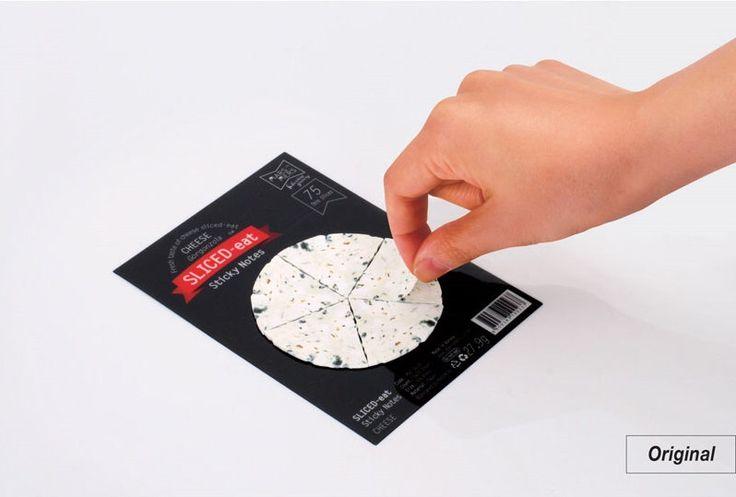 Sticky Note [ Gorgonzola Cheese / 2 types ] / Notepad / Memopad by DubuDumo on Etsy https://www.etsy.com/listing/181220163/sticky-note-gorgonzola-cheese-2-types