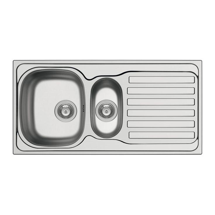 Küchenarbeitsplatte Roller: Einbauspüle DERBY